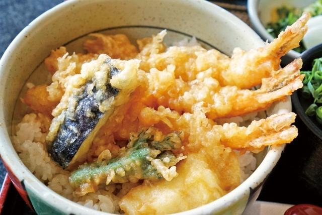 天丼 天ぷら 丼もの 食事 和食 揚げ物