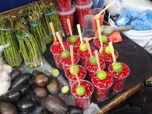 屋台 アジア 野菜 市場