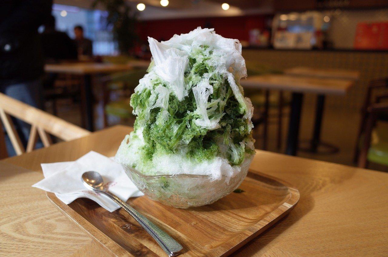 かき氷 甘味 抹茶 日本