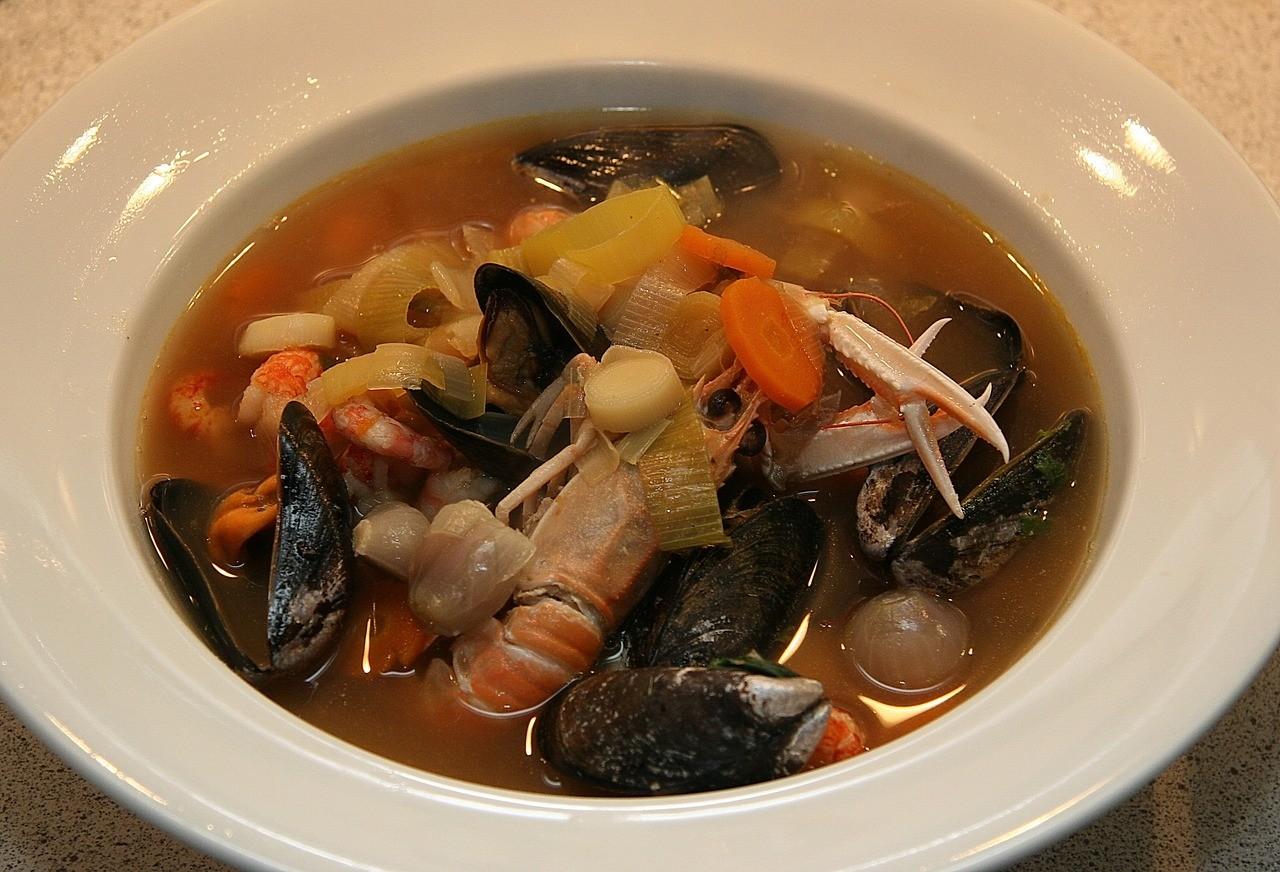 ブイヤベース スープ 食事 洋食