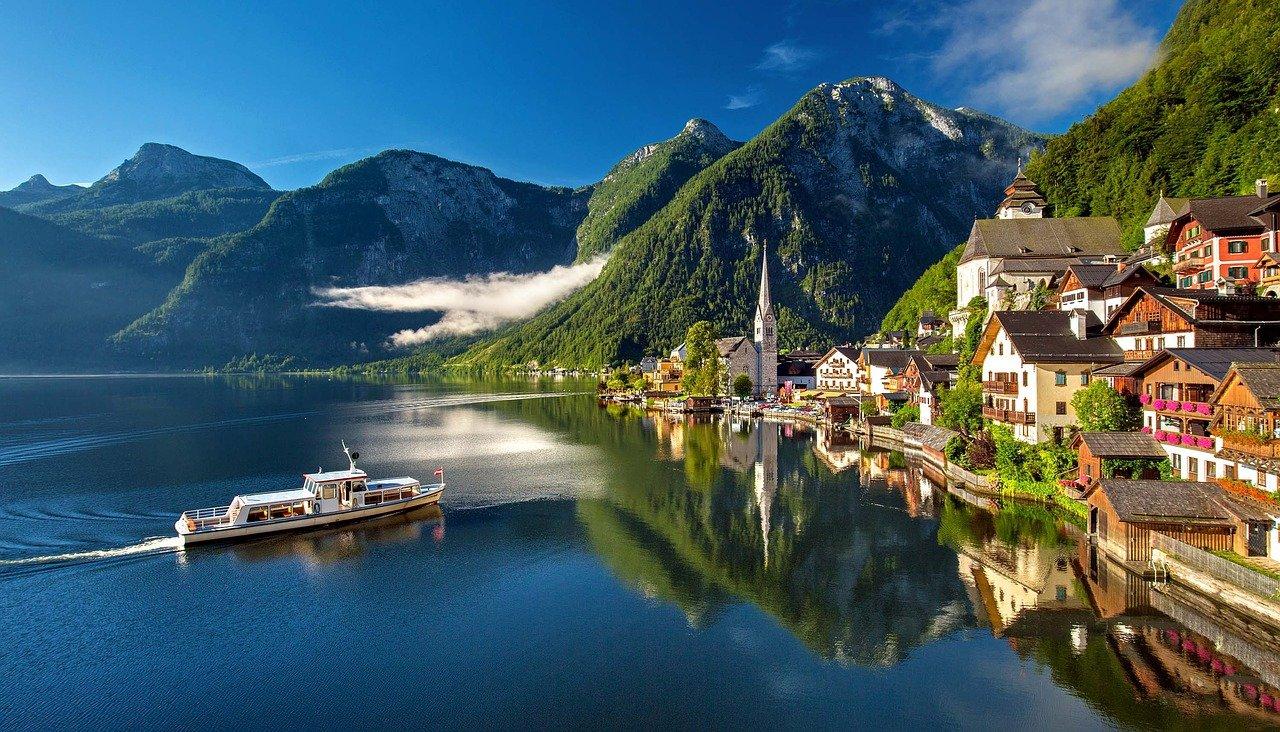 オーストリア 世界遺産 自然 風景
