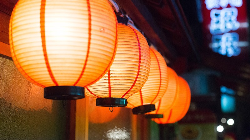 提灯 日本 祭り
