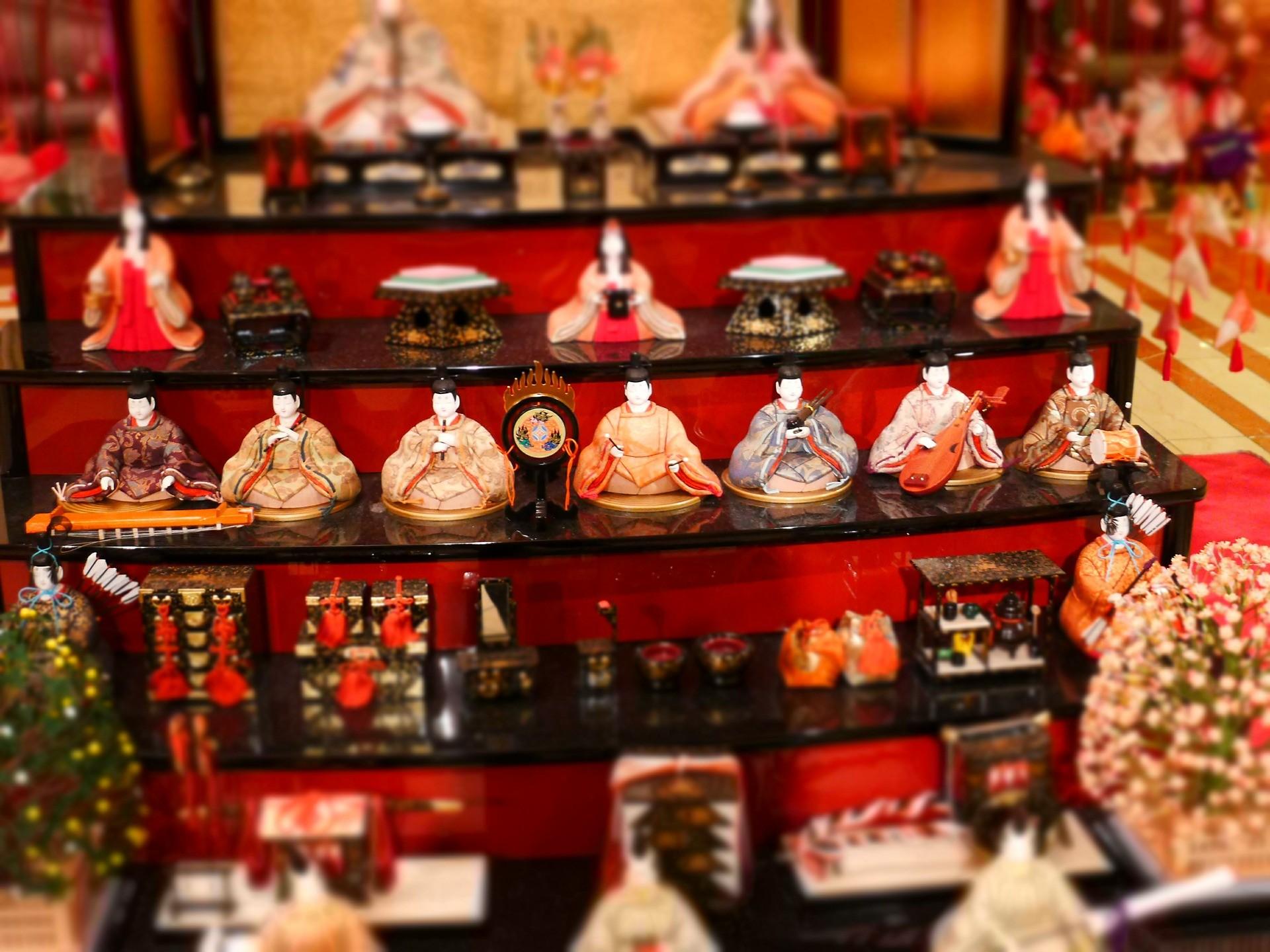 人形 祭り 日本