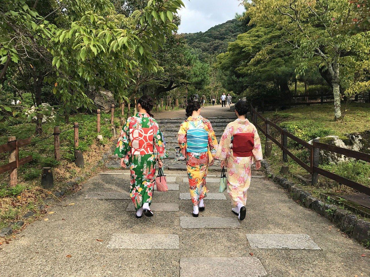 日本 着物 ファッション
