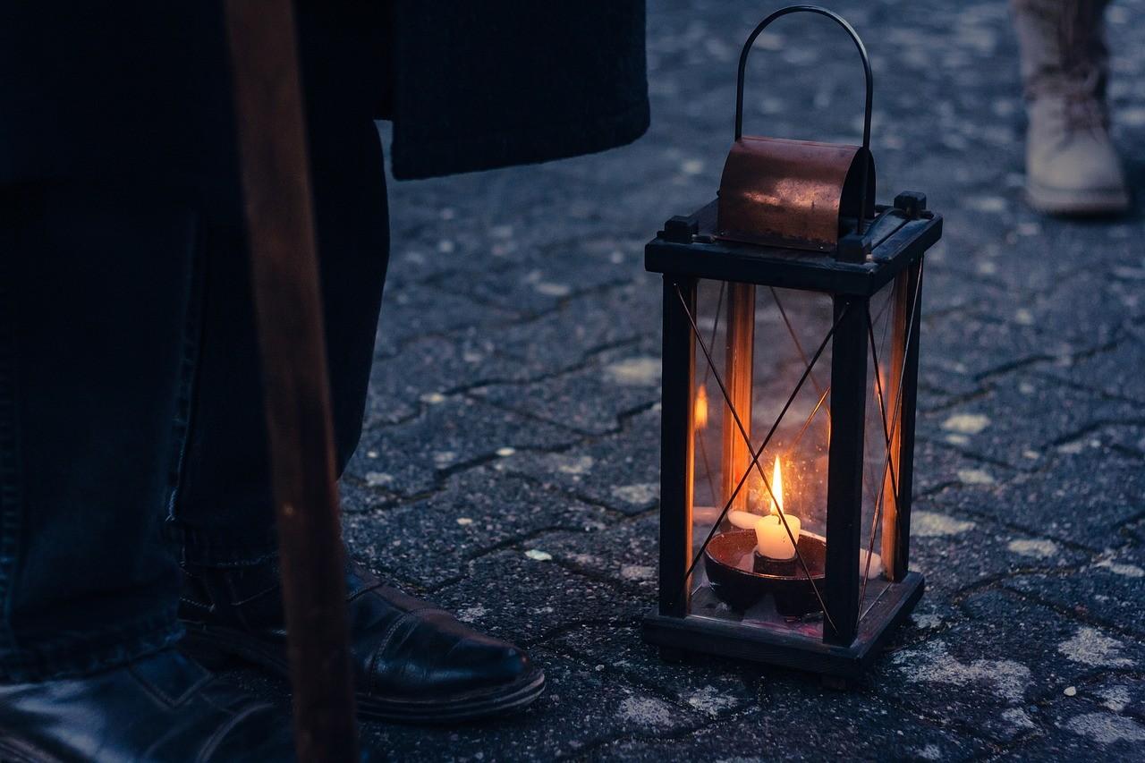 ランプ ライト 風景 イメージ