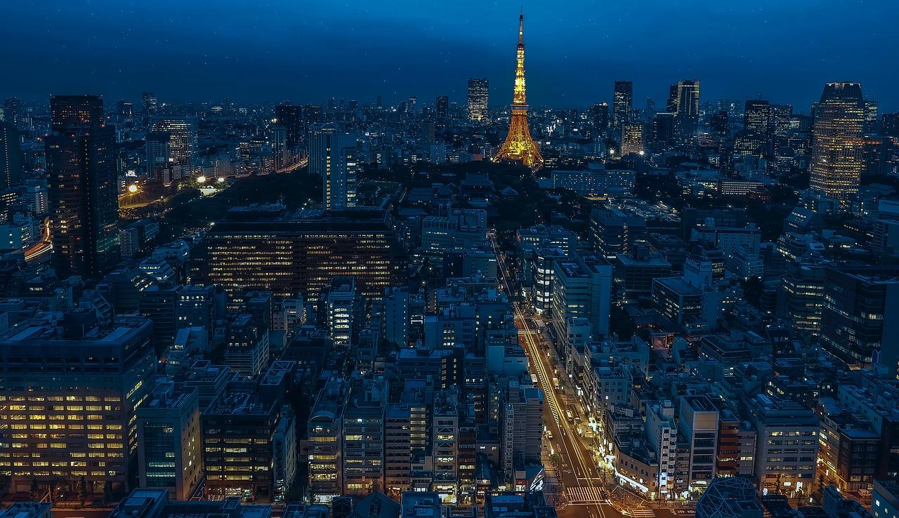東京 街並み 風景 日本