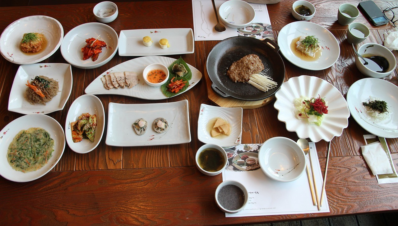 アジア 食事 定食