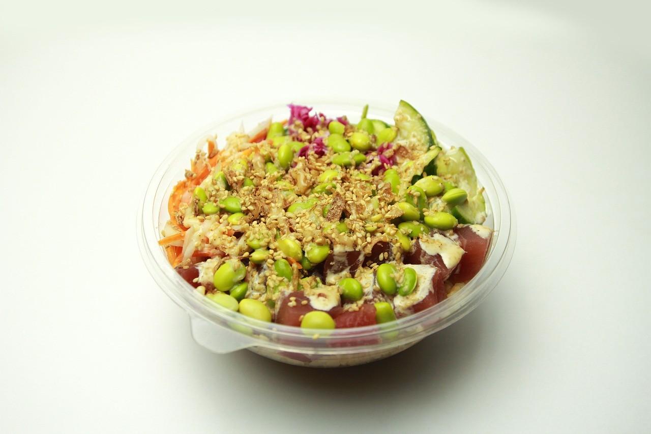 サラダ ポケ 食事 洋食