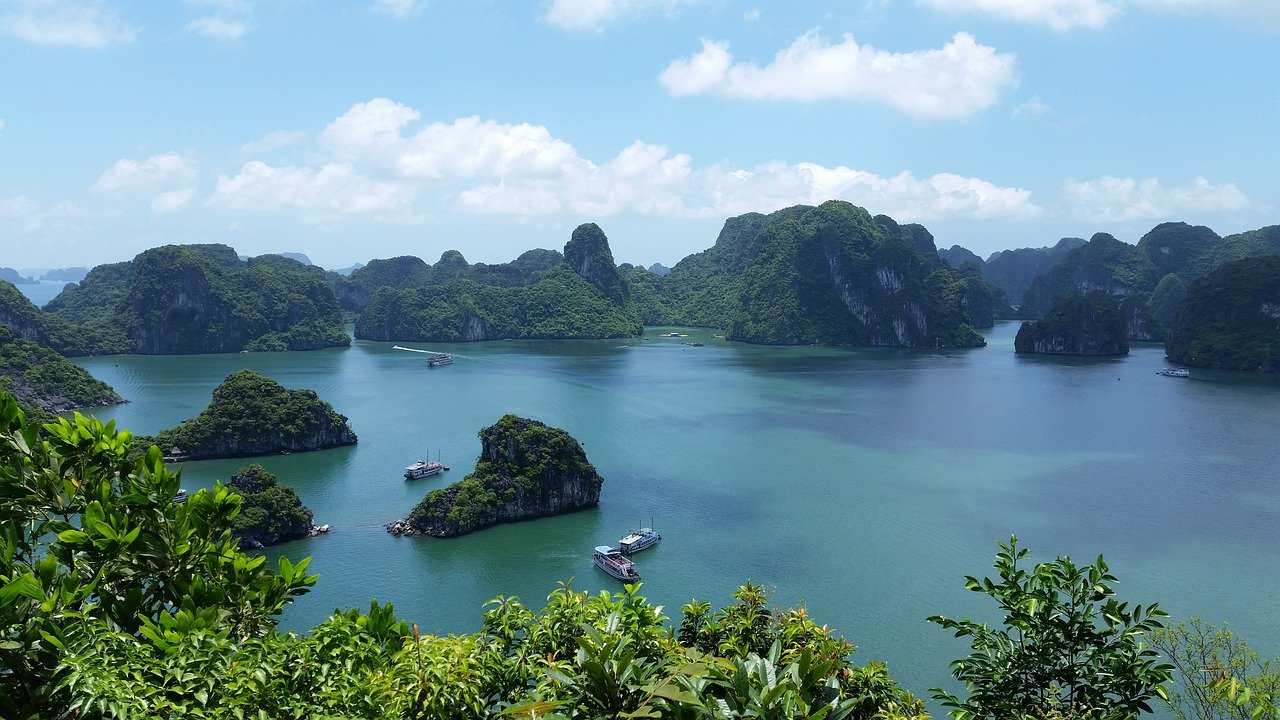 ベトナム 世界遺産 風景 自然